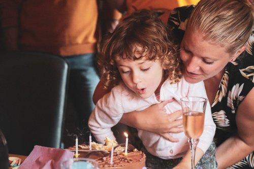 anniversaire enfant famille bougie