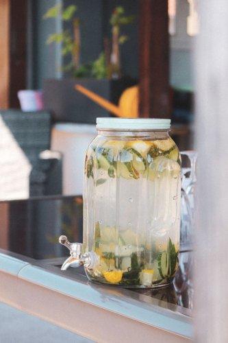 brunch eau citron concombre Jar