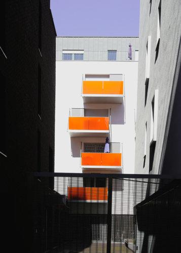 architecture facade contraste couleur
