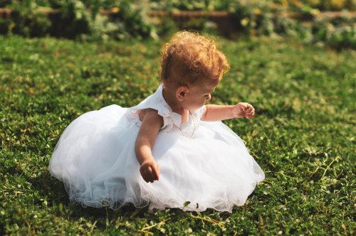 bapteme robe blanche