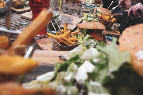 burger hamburger frite salade strasbourg