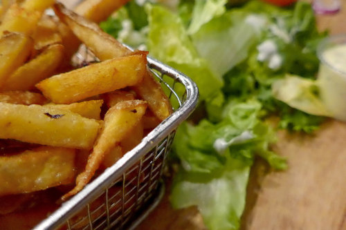 frite salade restaurant