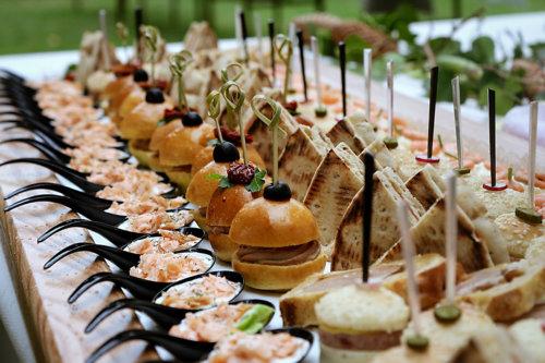 mariage buffet petits four