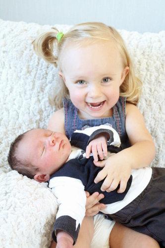 photograpie frere soeur enfants