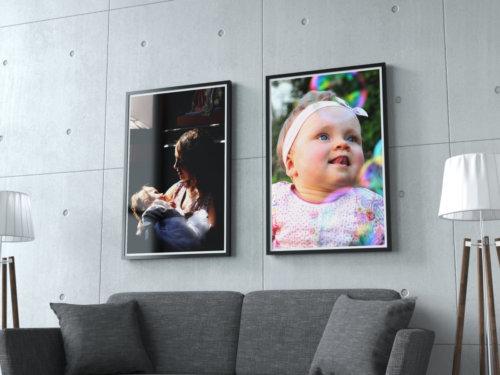 photographie enfant cadre deco