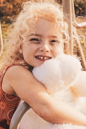 portrait enfant couleur sepia