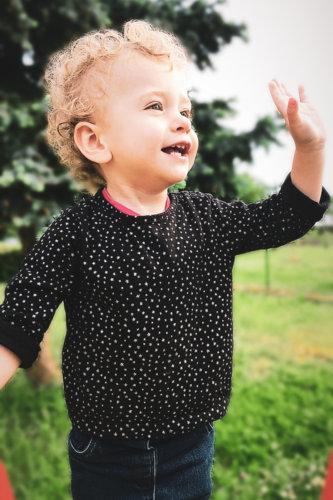 portrait enfant couleur