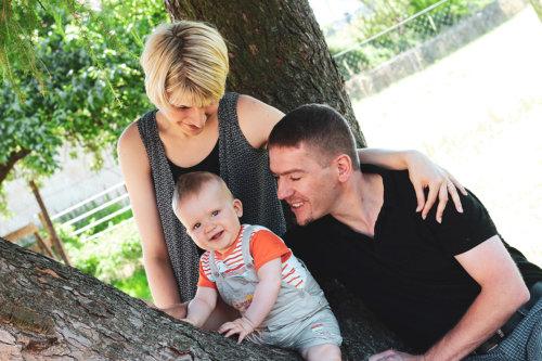portrait famille enfant nature