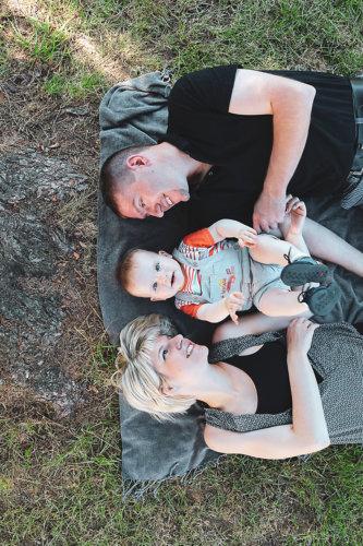 portrait famille enfant