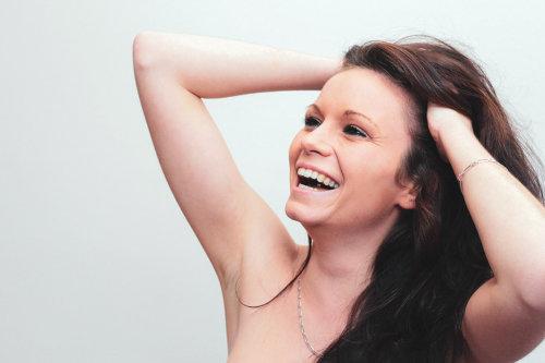 portrait femme priscilla sourire