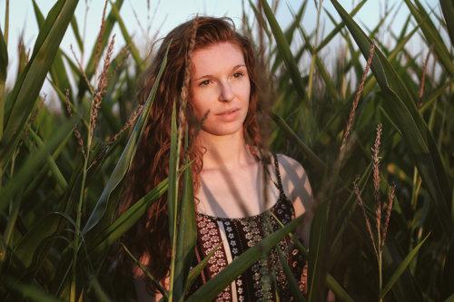 portrait sarah coucher de soleil