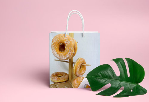sachet beignet donuts